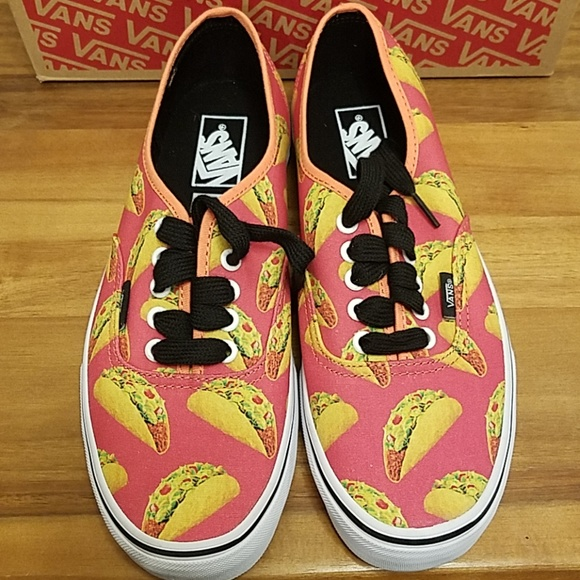 8af4a37728a1 Vans authentic taco sneakers